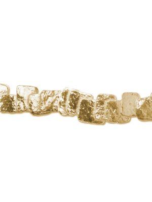18 Kt vergulde zilveren ONNO armband | A0044PL | thumbnail image