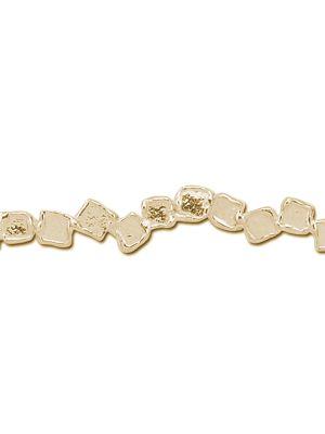 18 Kt vergulde zilveren ONNO armband | A0052PL | thumbnail image