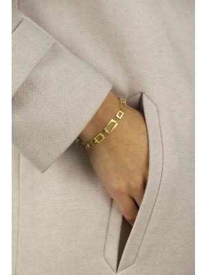 18 Kt vergulde zilveren ONNO armband | A0221PL | thumbnail image