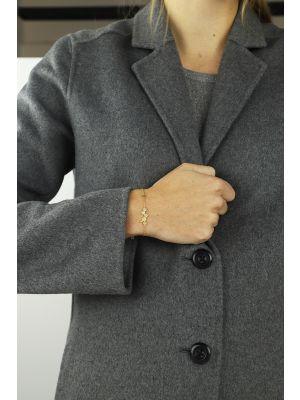 18 Kt vergulde zilveren ONNO armband | A0223PL | thumbnail image