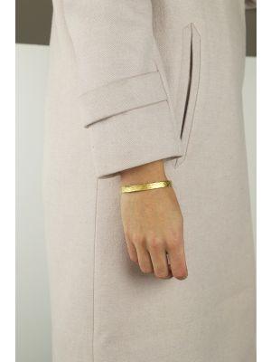 18 Kt vergulde zilveren ONNO armband | A0225PL | thumbnail image