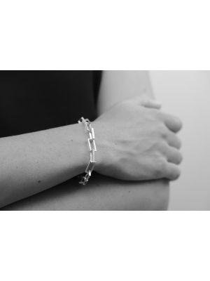 Zilveren ONNO armband met rhodium  | A0229RH | small image