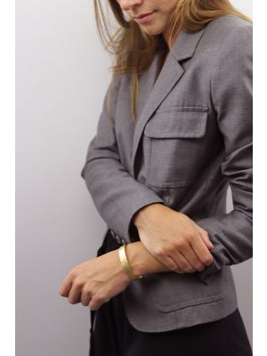 18 Kt vergulde zilveren ONNO armband | A0230PL | small image