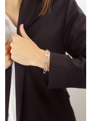 Zilveren ONNO armband met rhodium  | A0235RH | small image
