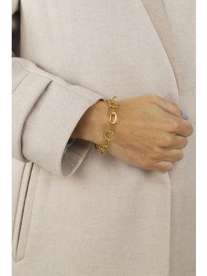 18 Kt vergulde zilveren ONNO armband | A0236PL | small image