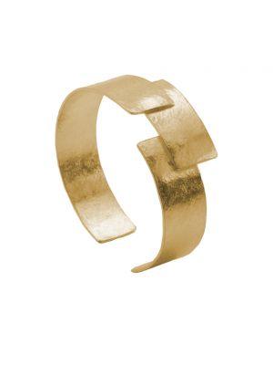 18 Kt vergulde zilveren ONNO armband | A0237PL | small image