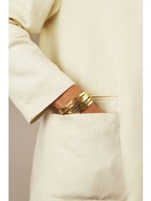 18 Kt vergulde zilveren ONNO armband | A0239PL | small image
