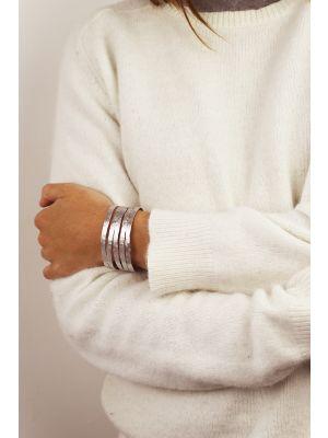 Zilveren ONNO armband met rhodium  | A0239RH | small image