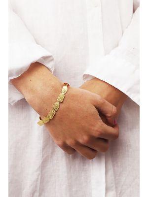 18 Kt vergulde zilveren ONNO armband | A0240PL | small image