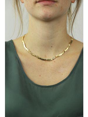 18 Kt vergulde zilveren ONNO ketting | K0015PL | thumbnail image