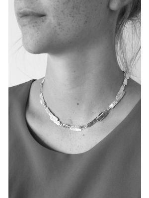 18 Kt vergulde zilveren ONNO ketting | K0168PL | thumbnail image