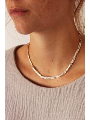 Zilveren ONNO ketting | K0194RH | thumbnail image