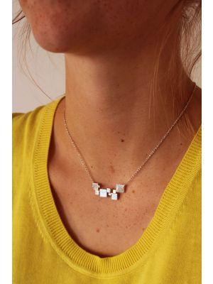 Zilveren ONNO ketting | K0241RH | thumbnail image
