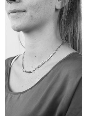 Zilveren ONNO ketting | K0252 | thumbnail image