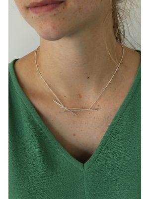 Zilveren ONNO ketting | K0293 | thumbnail image