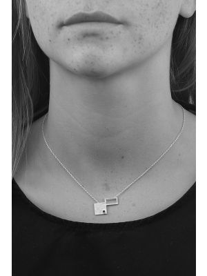 Zilveren ONNO ketting  | K0310 | small image