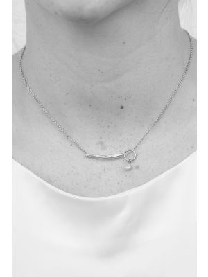 Zilveren ONNO ketting  | K0331 | small image