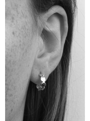 Zilveren ONNO creool | OC0005RH | thumbnail image