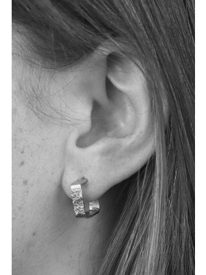 Zilveren ONNO creool | OC0047RH | thumbnail image