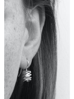 Zilveren ONNO oorhaak | OH0019RH | thumbnail image