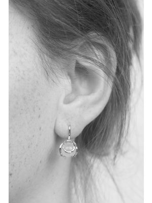 Zilveren ONNO oorhaak | OH0043R | thumbnail image