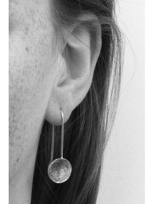 Zilveren ONNO oorhaak | OH0049 | thumbnail image
