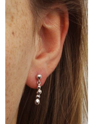 Zilveren ONNO oorsteker | OS0015RH | thumbnail image