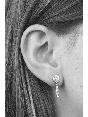 Zilveren ONNO oorsteker | OS0017RH | thumbnail image