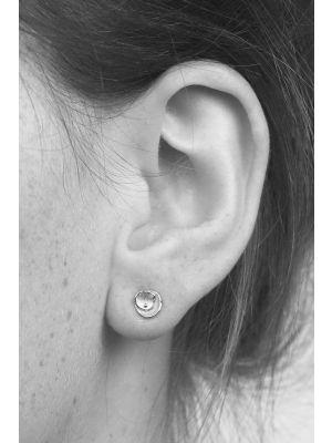 Zilveren ONNO oorsteker | OS0049RH | thumbnail image