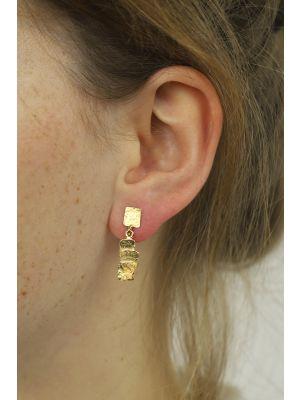 18 Kt gouden ONNO oorsteker | OS0055AUG | thumbnail image