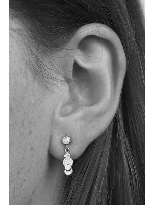 Zilveren ONNO oorsteker | OS0084RH | thumbnail image