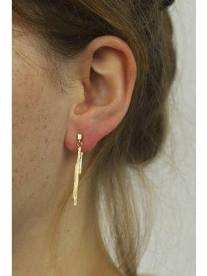 18 Kt gouden ONNO oorsteker | OS0087AUG | thumbnail image