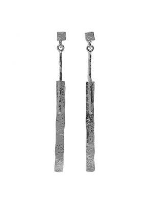 Zilveren ONNO oorsteker | OS0115RH | thumbnail image