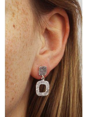 Zilveren ONNO oorsteker | OS0127RH | thumbnail image
