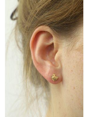 18 Kt gouden ONNO oorsteker | OS0194AUG | thumbnail image