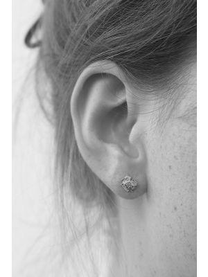 Zilveren ONNO oorsteker | OS0194RH | thumbnail image