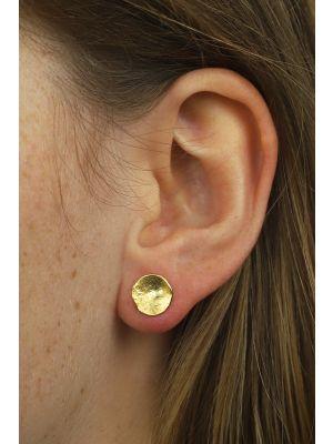 18 Kt vergulde zilveren ONNO oorsteker | OS0202PL | thumbnail image