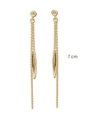 18 Kt vergulde zilveren ONNO oorsteker | OS0242PL | thumbnail image