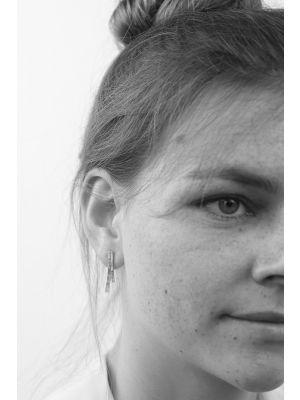 Zilveren ONNO oorsteker | OS0246RH | thumbnail image