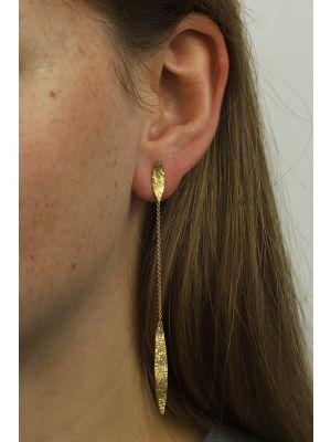 18 Kt vergulde zilveren ONNO oorsteker | OS0259PL | thumbnail image