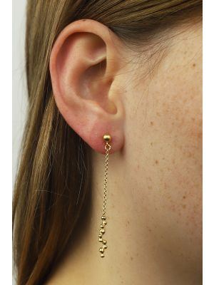18 Kt gouden ONNO oorsteker | OS0264AUG | thumbnail image
