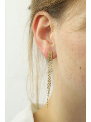 18 Kt gouden ONNO oorsteker | OS0265AUG | thumbnail image