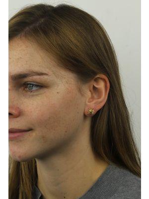 18 Kt vergulde zilveren ONNO oorsteker | OS0284PL | thumbnail image