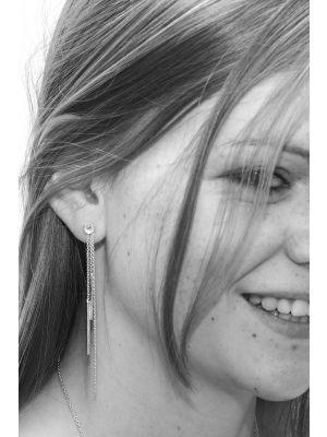 Zilveren ONNO oorsteker | OS0295 | thumbnail image