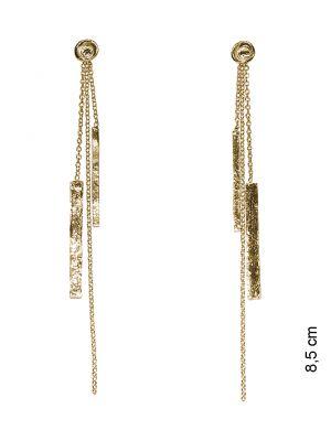 18 Kt vergulde zilveren ONNO oorsteker | OS0295PL | thumbnail image