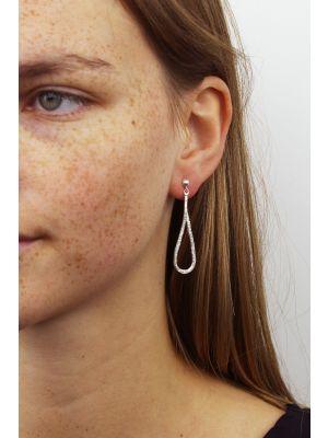 Zilveren ONNO oorsteker | OS0328RH | thumbnail image