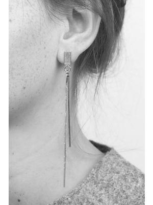 Zilveren ONNO oorsteker | OS0330RH | thumbnail image