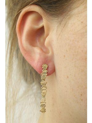 18 Kt gouden ONNO oorsteker | OS0346AUG | thumbnail image