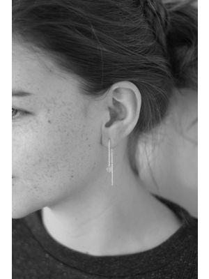 Zilveren ONNO oorsteker | OS0359RH | thumbnail image