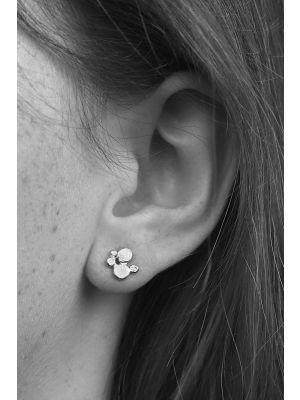 Zilveren ONNO oorsteker | OS0375RH | thumbnail image